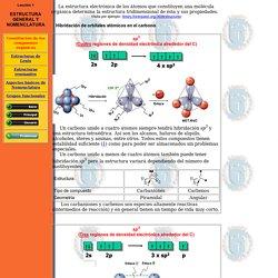 Constitución de los compuestos orgánicos lección 1