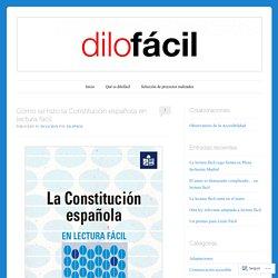 Cómo se hizo la Constitución española en lectura fácil
