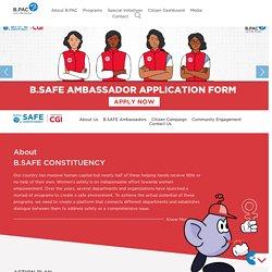 B.SAFE Constituency Program