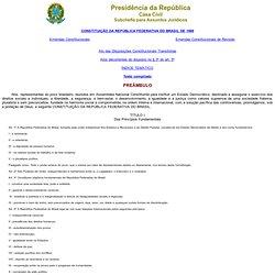 A Constituição e Extensão Universitária