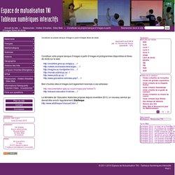 Constituter sa propre banque d'images à partir d'images libres de droits - Espace de Mutualisation TNI - Tableaux Numériques Interactifs