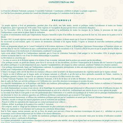 Constitution 1963