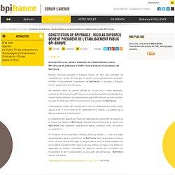 06/2013 Pdg BPI Nicolas Dufourcq