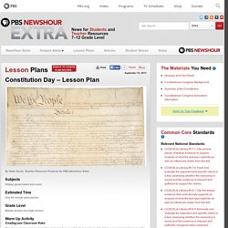 Constitution Day – Lesson Plan