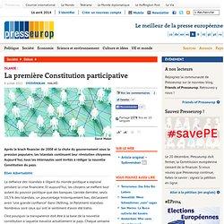 La première Constitution participative