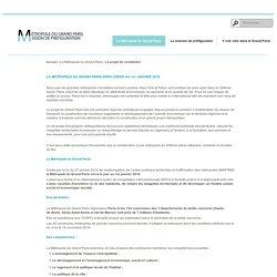 Le projet de constitution / La Métropole du Grand Paris / MGP - Métropole du Grand Paris Mission de préfiguration