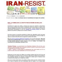 Iran: La Femme dans la Constitution du régime des mollahs