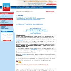 Constitution de dossiers : Non restaurateurs - Commission Nationale des Titres Restaurant ( Cntr )
