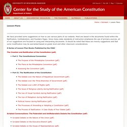 Center for the Study of the American Constitution