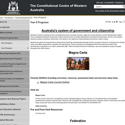 Constitutional Centre - Year 6