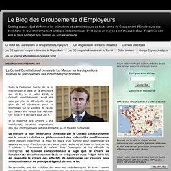 Le Conseil Constitutionnel censure la Loi Macron sur les ...