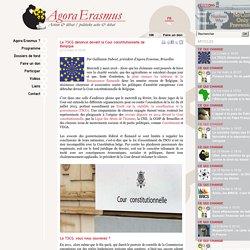 Le TSCG dénoncé devant la Cour constitutionnelle de Belgique
