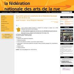Fédération Auvergne des arts de de la rue