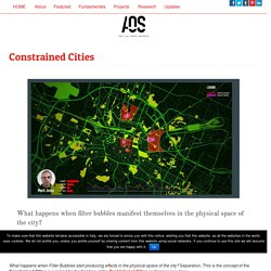 Constrained Cities – [ AOS ] Art is Open Source