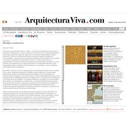 Biología y construcción - Arquitectura Viva · Revistas de Arquitectura