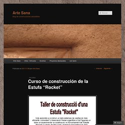 """Curso de construcción de la Estufa """"Rocket"""""""