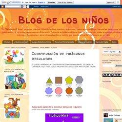 Blog de los niños: Construcción de polígonos regulares