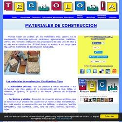 Materiales de Construcción Tipos Propiedades y Usos