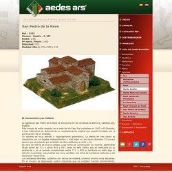 Kit de construcción para la reproducción de la Iglesia de San Pedro de la Nave