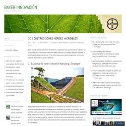 10 Construcciones verdes increíbles