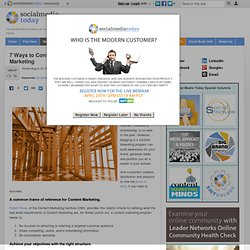Construct Posts for Content Marketing