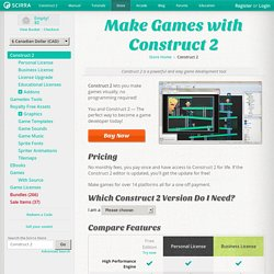 Make games with Construct 2 - Scirra Store