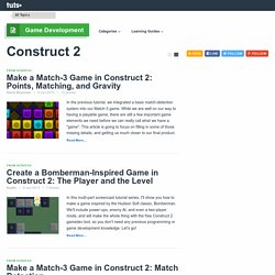 Construct 2 - Tuts+ Game Development Category