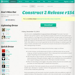 Construct 2 r154 (Beta) Download
