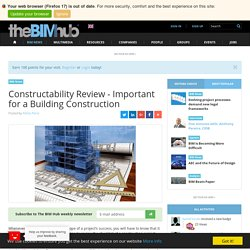 Constructability Review - Important for a Building Construction