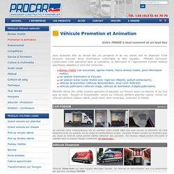 carrossier, constructeur, fabricant, aménageur : vehicules publicitaires, bureau mobile, car-podium