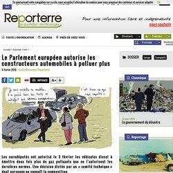 Le Parlement européen autorise les constructeurs automobiles à polluer plus