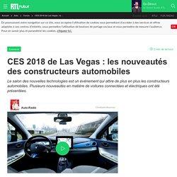 CES 2018 de Las Vegas : les nouveautés des constructeurs automobiles