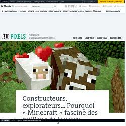Constructeurs, explorateurs... Pourquoi «Minecraft» fascine des millions de joueurs
