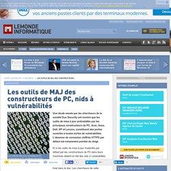 Les outils de MAJ des constructeurs de PC, nids à vulnérabilités