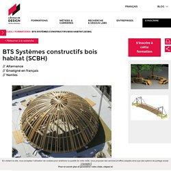 BTS Systèmes constructifs bois habitat (SCBH) - BTS Systèmes constructifs bois habitat (SCBH) - Formations