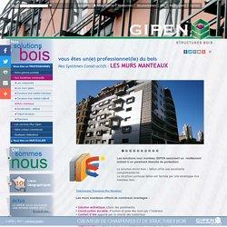 GIPEN - Systemes constructifs Professionnels : Murs Manteaux