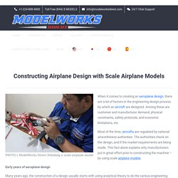 Constructing Airplane Design with Scale Airplane Models