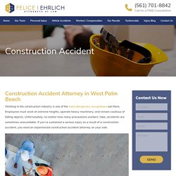 Construction Accident Attorney in West Palm Beach