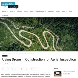 Using Drone in Construction for Aerial Inspection
