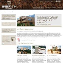 Construction et aggrandissement de maison en bois massif CLT
