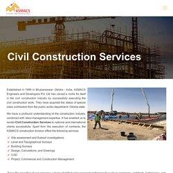 Civil Construction Services - Site Assessment, Building Surveys