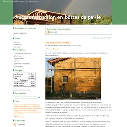 Journal de la construction - Autoconstruction en bottes de paille
