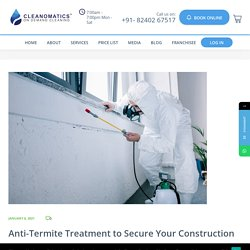 Anti-Termite Treatment to Secure Your Construction Inside Out - Cleanomatics