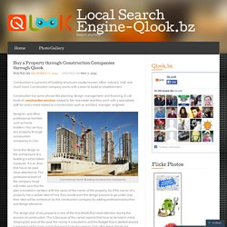 Buy a Property through Construction Companies through Qlook