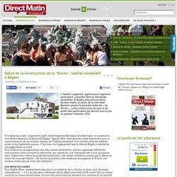 """Début de la construction de la """"Ruche"""", habitat coopératif à Bègles"""