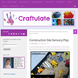 Chantier de construction sensorielle Play