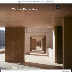 Suspended Floor Construction – Writers Destination