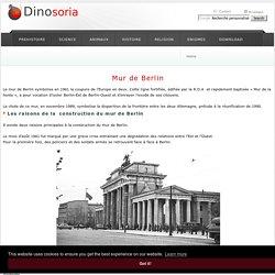 Mur de Berlin . De la Construction à la Chute. Photos d'Archives. Dinosoria