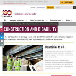 Construction And Disability