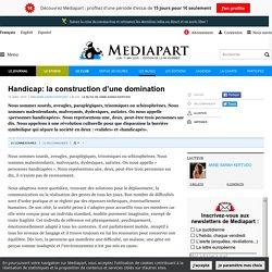Handicap: la construction d'une domination